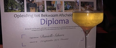 Diploma bekwaam afscheidsfotograaf